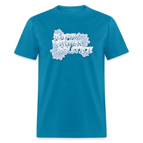 Happy Winter Solsitce - Men's T-Shirt