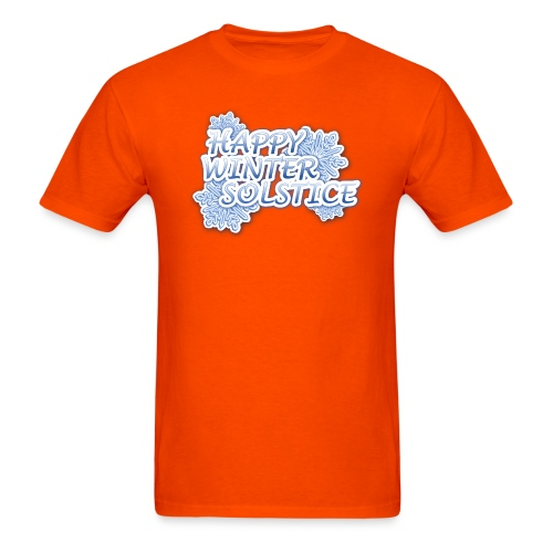 Happy Winter Solsitce - Men's T-Shirt