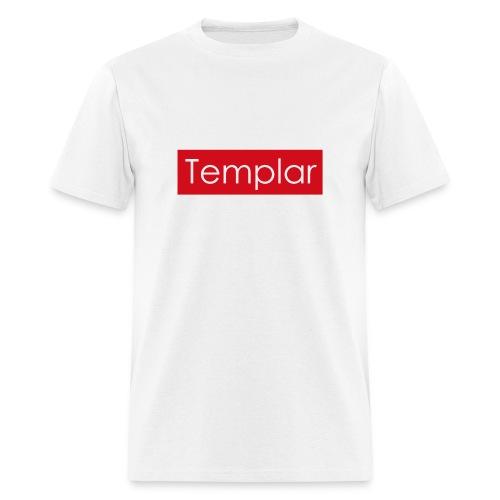 Red bar Templar - Men's T-Shirt