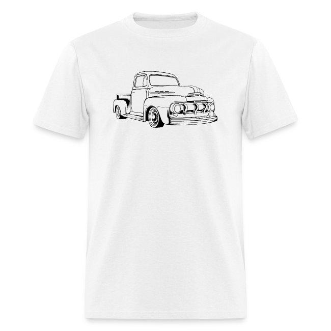 1951 F100 Classic Pickup Truck Men's T-Shirt