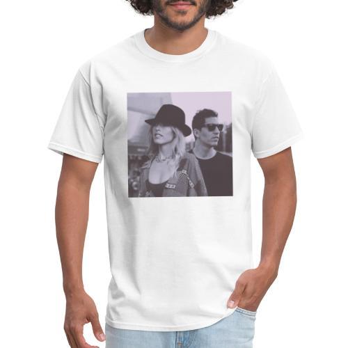 Lydia&Sebastien Traveling Shoes art cover - Men's T-Shirt