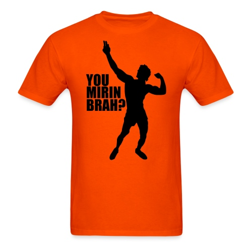 Zyzz Silhouette You mirin brah? - Men's T-Shirt