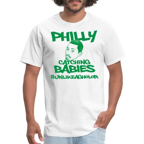 #UnlikeAgholor Green - Men's T-Shirt