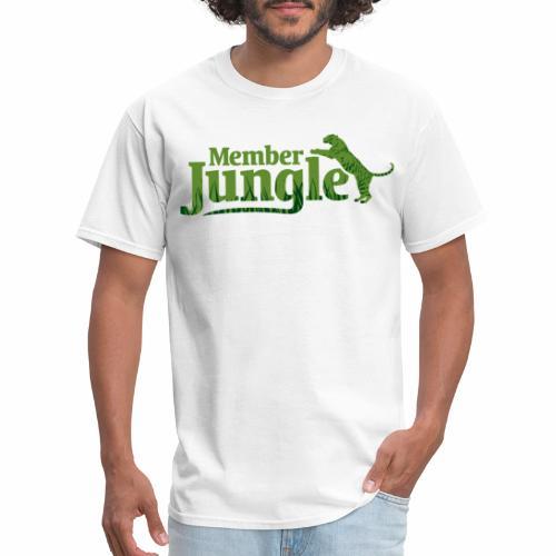 Member Jungle Logo (green) - Men's T-Shirt