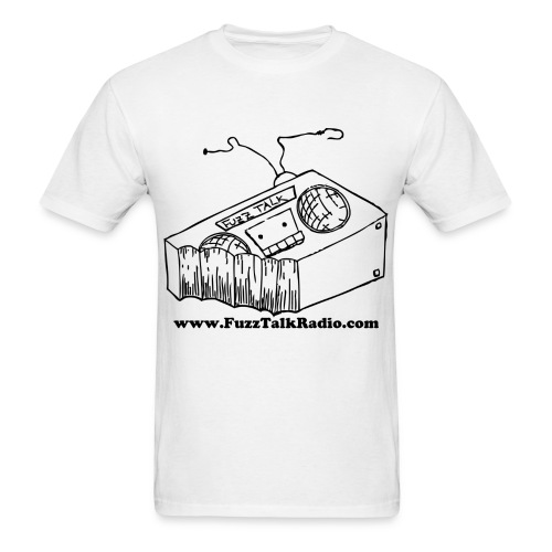 FTRLogoBlackAddress - Men's T-Shirt
