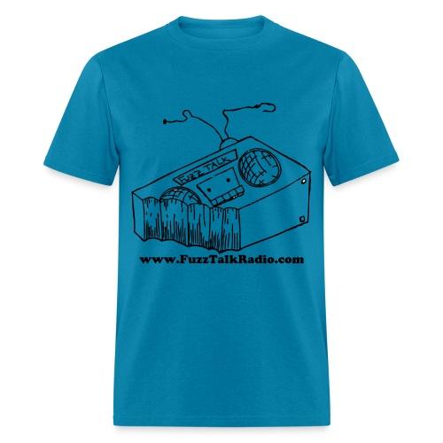 FTRLogoBlackAddress - Men's T-Shirt
