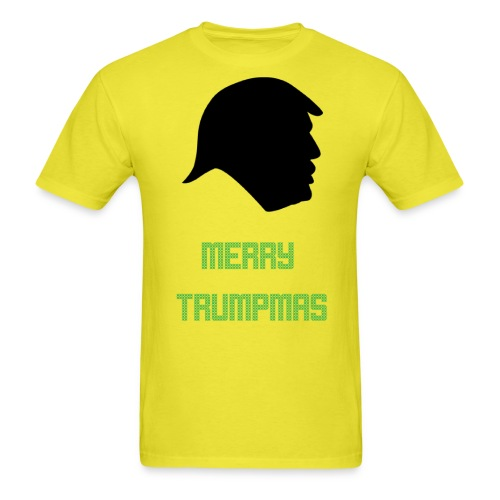 Merry Trumpmas Green - Men's T-Shirt
