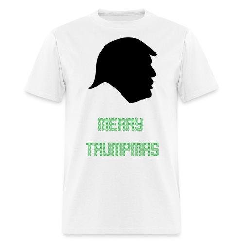 Merry Trumpmas Green - Men's T-Shirt