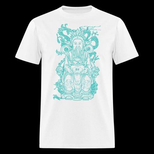 Wise Blue Monk - Men's T-Shirt