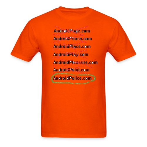 NAFality Design 1 For the lulz - Men's T-Shirt