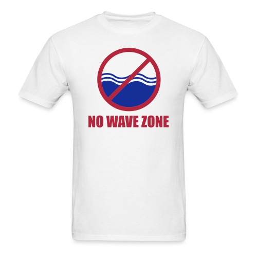 nowavezone - Men's T-Shirt