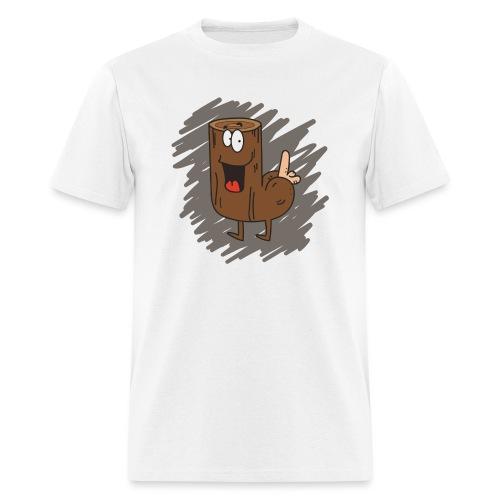 Loganus - Pene with scribble - Men's T-Shirt