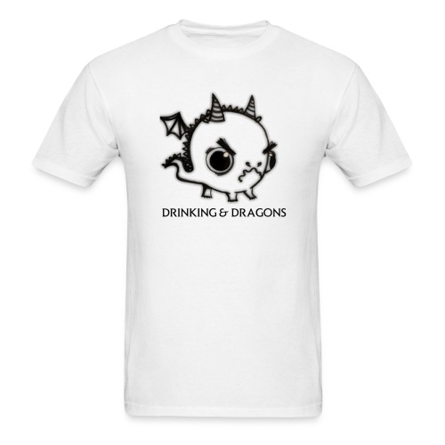ANGRY DRAGON - Men's T-Shirt