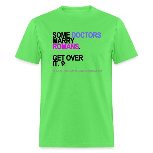 some doctors marry romans lg transparent - Men's T-Shirt