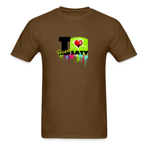 I Love SATV - Men's T-Shirt