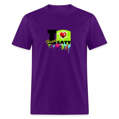 I Love SATV - Men's T-Shirt