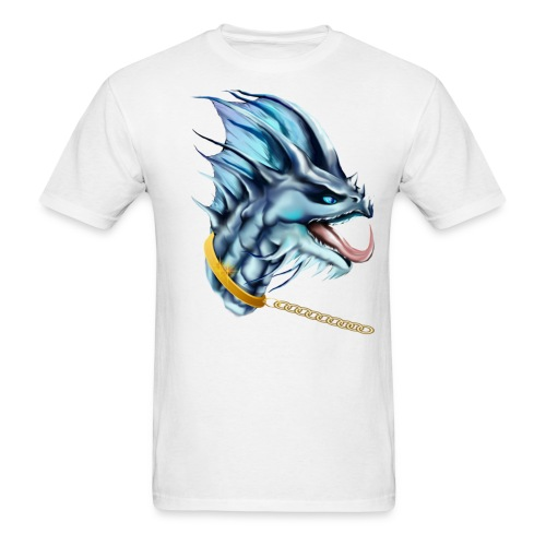 Dragon and Gold Chain - Men's T-Shirt