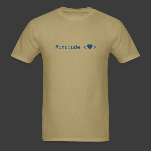 Include Heart (Light Background) - Men's T-Shirt