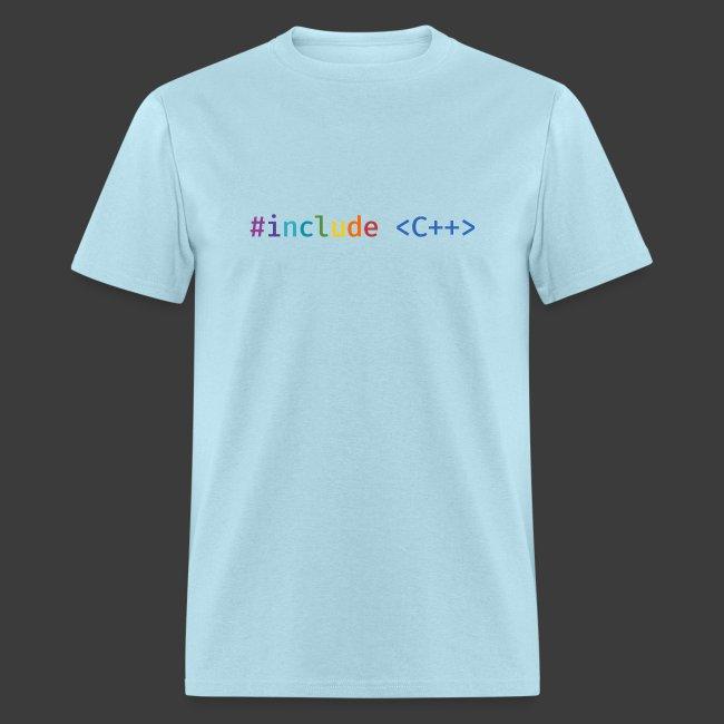Rainbow Include C++ (Light Background)
