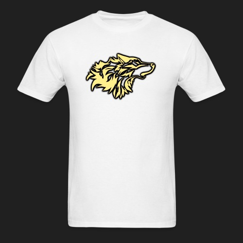 wolfepacklogobeige png - Men's T-Shirt
