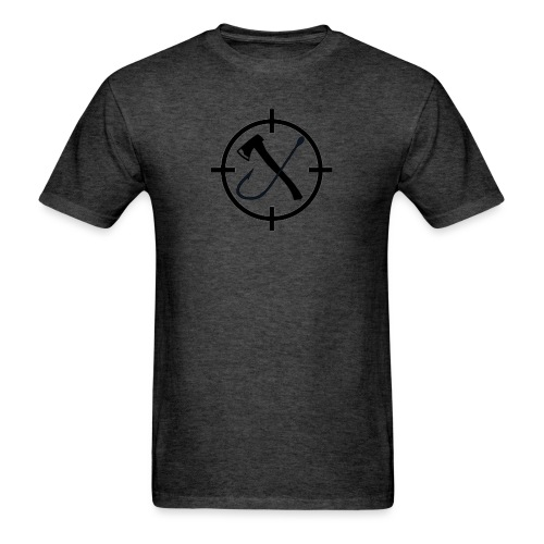 Hooks&Triggers Logo - Men's T-Shirt