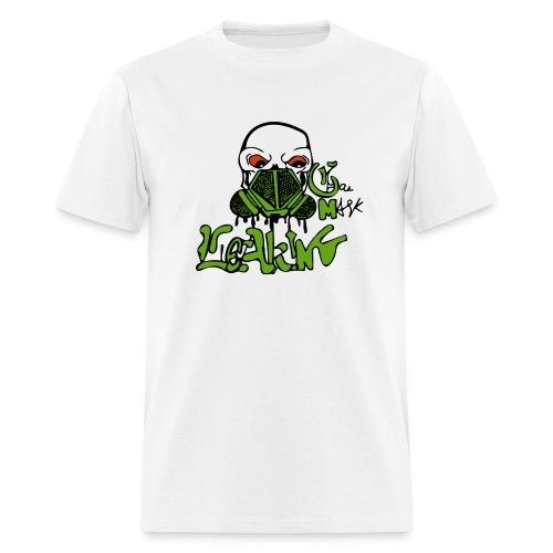 Leaking Gas Mask - Men's T-Shirt