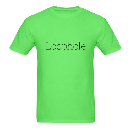 Loophole Abstract Design - Men's T-Shirt