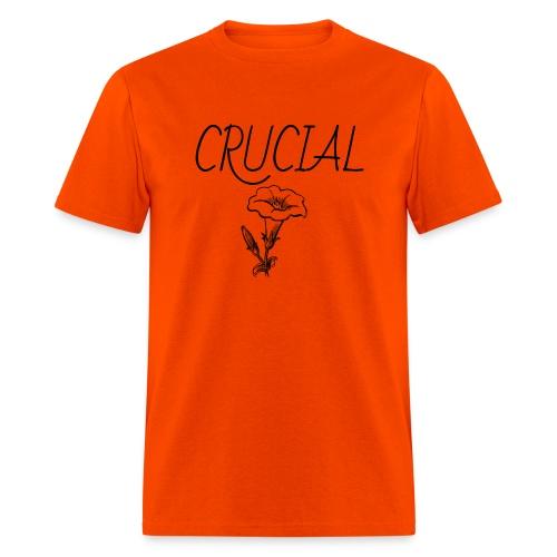 Crucial Abstract Design - Men's T-Shirt