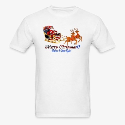 Merry Christmas-America - Men's T-Shirt