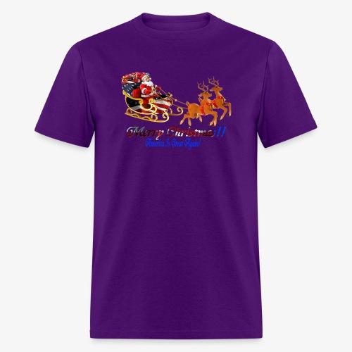 Merry Christmas-America - Men's T-Shirt