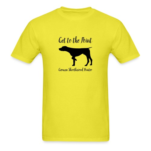 GSP. Get to the Point. - Men's T-Shirt