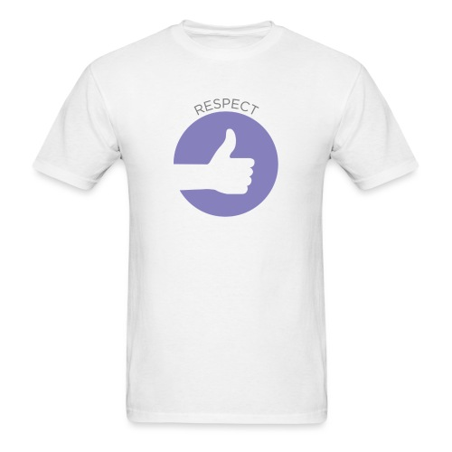 IMAGINOR VALUES ICONS WITH TEXT RESPECT - Men's T-Shirt