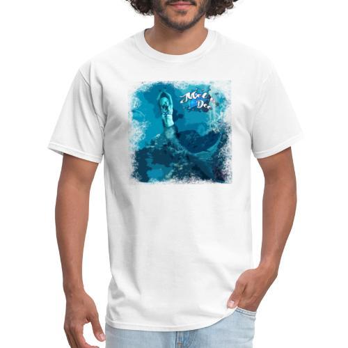 MEL*O*DEE Blue Mermaid Fantasy - Men's T-Shirt