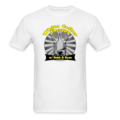 The White Collar Therapy Show - Legacy Logo - Men's T-Shirt