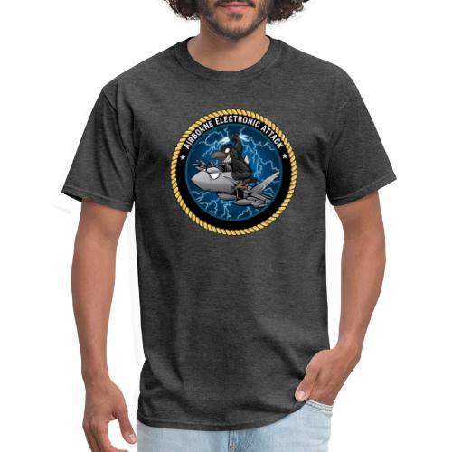 Airborne Electronic Attack EA-18 Growler Cartoon - Men's T-Shirt