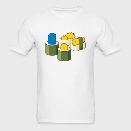 The Simpsons Sushi - Men's T-Shirt