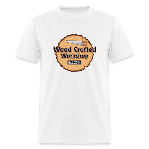 WoodCraftedWorkshop TransparentBg - Men's T-Shirt