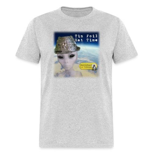 Tin Foil Hat Time (Earth) - Men's T-Shirt