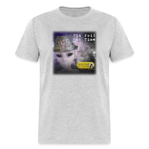 Tin Foil Hat Time (Space) - Men's T-Shirt
