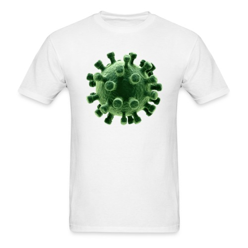 CORONAVIRUS COVID 19 (green version) - Men's T-Shirt