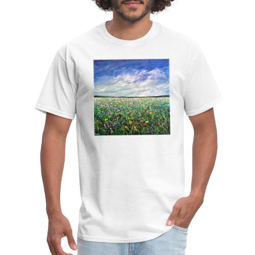 Field of Flowers - Men's T-Shirt