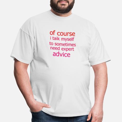 advice - Men's T-Shirt