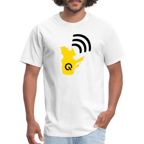 Radio-Québec - T-shirt pour hommes