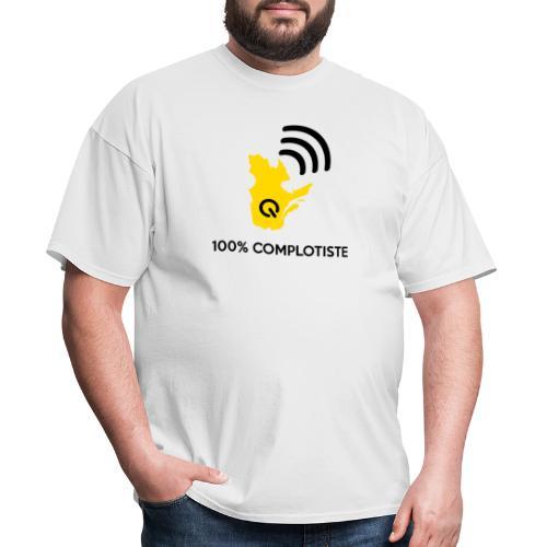 100% complotiste - T-shirt pour hommes