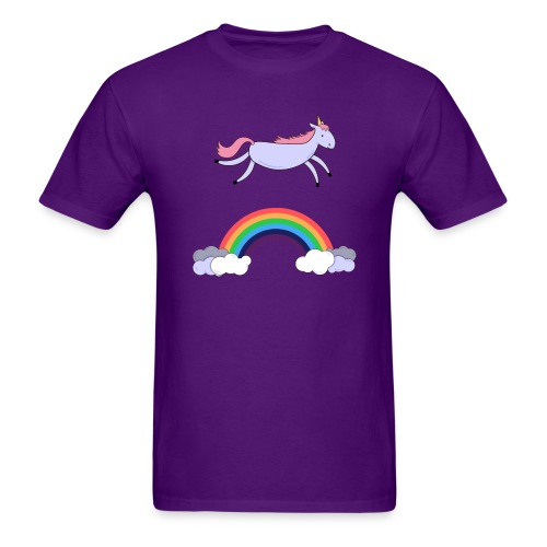 Flying Unicorn - Men's T-Shirt