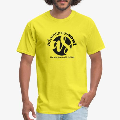 Adventurous Soul Wear - Life Stories Worth Telling - Men's T-Shirt