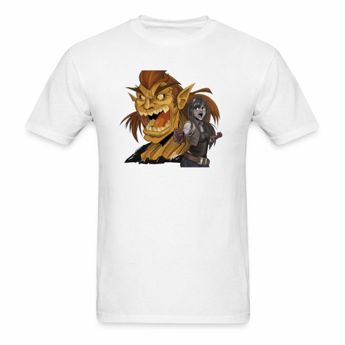 Fighter and the Demon - Men's T-Shirt
