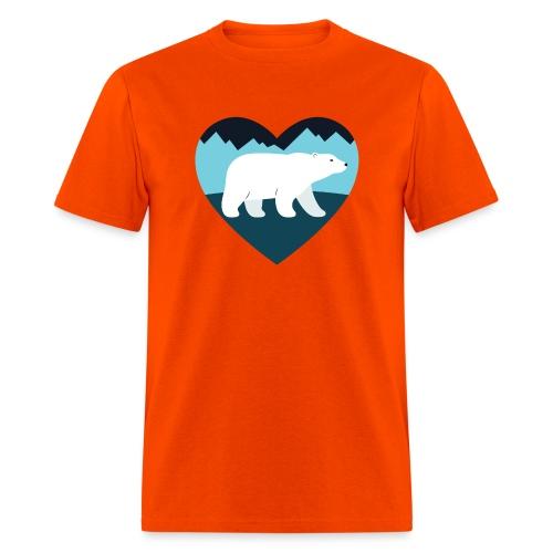 Polar Bear Love - Men's T-Shirt