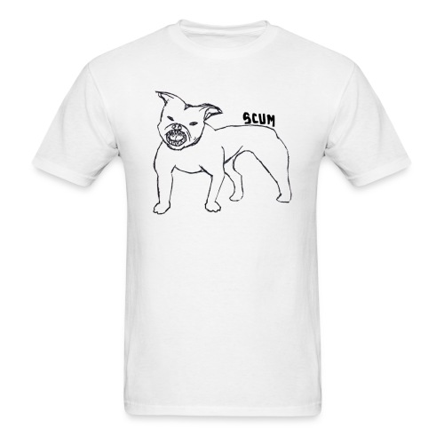 Scum Pitbull - Men's T-Shirt