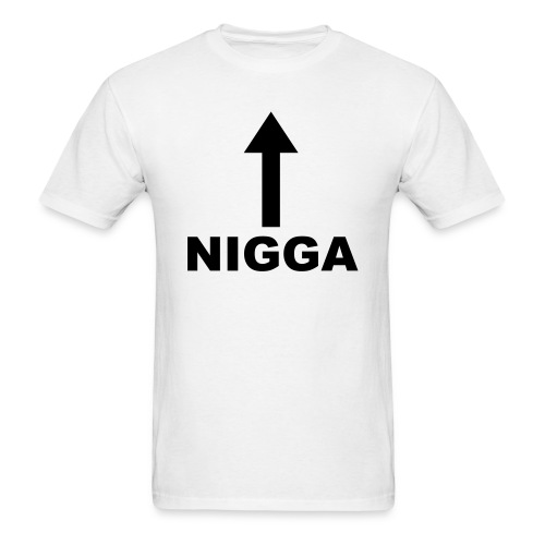NIGGA - Men's T-Shirt